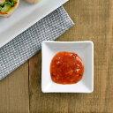 豆皿 EASTオリジナルスクエアプレート(SS)(STUDIO BASIC)白いお皿 四角いお皿 醤油皿 ナチュラル 小皿 パーティー お菓子皿 豆皿 ホテル食器 ポーセリンアート