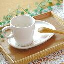 コーヒーカップ&たまご型ソーサー(アイボリー)マグ/カップ/コーヒーカップ/ティーカップ/シンプル/セット食器/ナチュラル食器