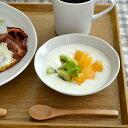うず 軽い和食器  取り鉢 白(4寸)14cmサラダボウル 中鉢 デザートボウル ヨーグルトボウル ボウル 白い食器 中鉢 ポーセリンアート おしゃれ カフェ風 シンプル