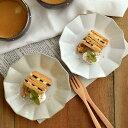 凛花(リンカ)お皿(中) 14.5cmプレート 皿 中皿 取り皿 ケーキ皿 デザート皿 一品料理 サラダ皿 手造り ハンドメイド おしゃれ