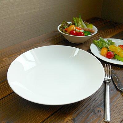 深さのある大きなパスタボウル25cm(アウトレット)大皿/パーティー皿/大きなお皿/ワンプレート/お