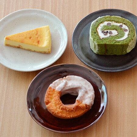 中皿EASTオリジナル和カフェスタイルたたきプレート16cm取り皿/ケーキ皿/和食器/取り皿/サラダ