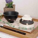 ブラウンベルト 職人の手造り茶碗 (水玉)   お茶碗/和の茶碗/ハンドメイド/水玉/和食器/土物/茶碗/和風/和モダン