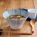 台形マルチどんぶり(M) 藍十草丼ぶり/丼/どんぶり/ボウル/ラーメン鉢/麺鉢/大鉢/鉢