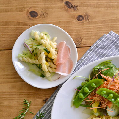 白い食器 和食器 和角シリーズ 豆皿(白) 12.5cm