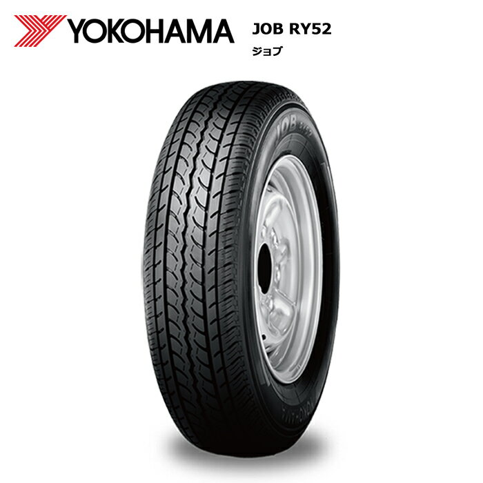 ■■ヨコハマ JOB ブリヂストン RY52 195R14 ファルケン 8PR:T-フラット 2本以上で送料無料 新製品!サマータイヤ新品1本価格
