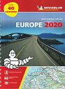 旅行&出張に A4版英語表記の詳細道路地図 ミシュラン・アトラス・ヨーロッパ Motoring Atlas Europe 2020
