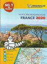 旅行&出張に A4版英語表記の詳細道路地図 ミシュラン・アトラス・フランス Michelin Tourist & Motoring Atlas France 2020