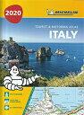 旅行&出張に A4版英語表記の詳細道路地図 ミシュラン・アトラス・イタリア Michelin Tourist & Motoring Atlas Italy 2020