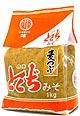 山口とくぢ味噌 麦つぶ味噌1kg【とくじみそ】通常