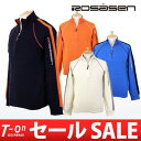 [30% OFF SALE] ロサーセン / ロサーセン / long sleeves half zip high neck sweater reshuffling W color Rosasen [men] ロサーセン / golf wear /fs2gm
