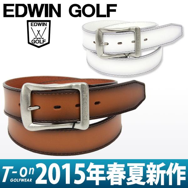 エドウィンゴルフの牛革ベルト 商品画像をクリックで拡大します。  【楽天市場】エドウィン/エドウ