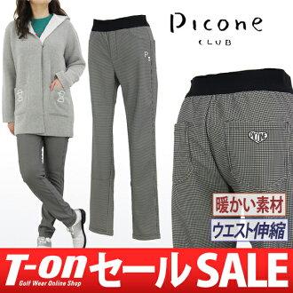 Picone 和 Picone 俱樂部 / 褲子長褲修身褲回刷溫暖伸展千鳥格模式 PICONE 俱樂部 Picone clubgolfware