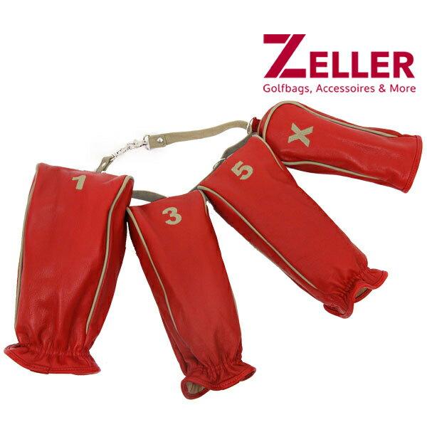 ツェラーゴルフ/ツェラーゴルフバッグ/4点セット ヘッドカバー 品の良さと存在感を醸す/ZELLER GOLFBAGS【メンズ】【レディース】ツェラーゴルフ ツェラーゴルフ/ツェラーゴルフバッグ