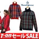 マンシングウェア/マンシングウェア/セーター タートルネックセーター M〜3L チェック柄 毛