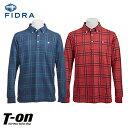 フィドラ FIDRA メンズ ポロシャツ 長袖ボタンダウン