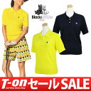 【30%OFF SALE】ブラック&ホワイト Black&White レディース ポロシャツ 半袖ニット