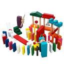 【送料無料】T-PRO ドミノ倒し ドミノたおし おすすめ 知育玩具 幼児 3才 4才 5才 ピタゴラ 入学祝い プレゼント