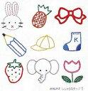 ●メール便● オリムパス フランス刺繍キット 基本縫 ししゅうステップ 1