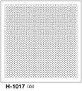 ★メール便★ オリムパス 刺し子 花ふきん布パック 伝統柄 白 柿の花 H-1017