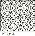 ●メール便● オリムパス 刺し子 花ふきん布パック 伝統柄 白 クロスつなぎ H-1024