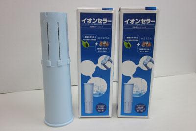 【送料無料】簡単ミネラル還元水イオンセラーポット専用カートリッジ[IC2000C]×2個セット