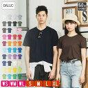 Tシャツ レディース 無地 メンズ 半袖 ダルク(DALUC) 5オンス DM030