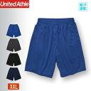ハーフパンツ 大きいサイズ メンズ 短パン レディース スポーツハーフパンツ ユナイテッドアスレ(United Athle) 4.1オンス 591401
