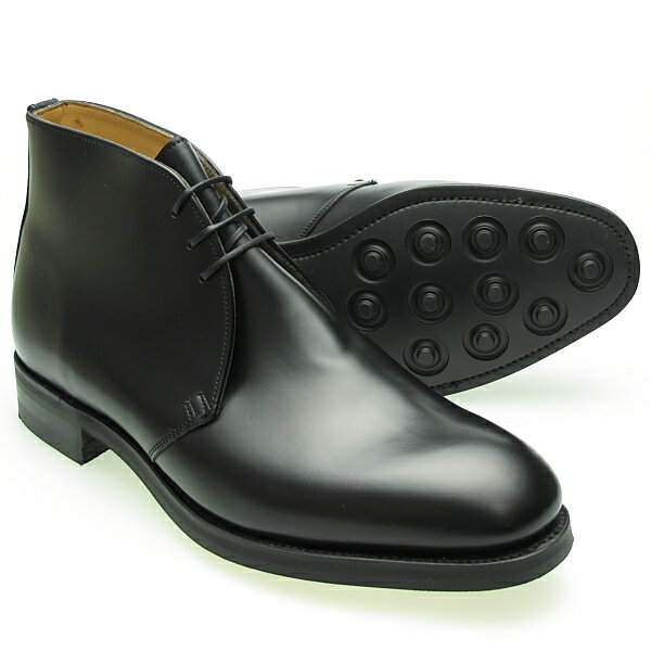 Alfred Sargent アルフレッドサージェント BLACK CHUKKA BOOT チャッカブーツ 20023-106(RYE)≪MADE IN ENGLAND≫