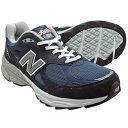 ニューバランス M990NV3 【普通幅〜やや幅広 Width:2E】 NEW BALANCE M990 ネイビー 990 【Made in U.S.A. 正規品】 990V3