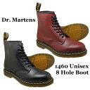 Dr.Martens ドクターマーチン 8ホールブーツ 1460 8 HOLE BOOT メンズ・レディース 全2色 ブラック、 チェリーレッド