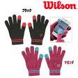 ウィルソン(WILSON)ウォームグローブユニセックスグローブ(WRAJ111)(テニス用品 テニス グローブ 手袋 ウイルソン スポーツ ブランド 防寒 テニスグローブ スマートフォン対応 スマホ対応 防寒具 テニス用) P20Aug16