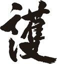 【護】書道家が書く漢字Tシャツ おもしろTシャツ 本物の筆文字を使用したオリジナルプリントTシャツ書道家が書いた文字を和柄漢字Tシャ..