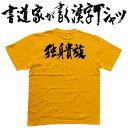 【独身貴族(横書)】書道家が書く漢字Tシャツ おもしろTシャ...