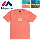ショッピングトレーニング Majestic(マジェスティック)Tシャツ 半袖シャツ スポーツウェア トレーニングウェア XM01MAJ028 18SS