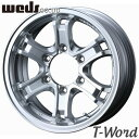 WEDS KEELER FORCE 17inch 7.5J PCD:139.7 穴数:6H カラー:HYPER SILVER ウェッズ アドベンチャー キーラー フォース