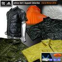 【10/11☆秋冬新作♪クリアランス30%オフ】adidas Golf Leaner Fit WポケットS/Sダウンシャツ