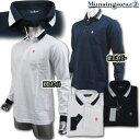マンシングウェア(Munsingwear) スクエアジャガードポロ