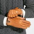 メンズ 手袋 MENS 高級ラム ステッチ付き 本革 レザーメンズ 手袋 グローブ 2色 ステッチ付き プレゼントにも!【送料無料】【楽ギフ_包装】
