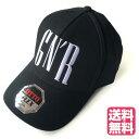 ショッピングニューエラ GUNS'N ROSES ガンズアンドローゼス キャップ ブラック シンプルロゴ ロゴ刺繍 ベースボールキャップ CAP 帽子 NEWERA