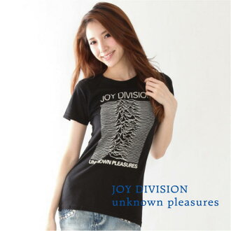 "JOY DIVISION ""Unknown Pleasures"" women's t-shirt"