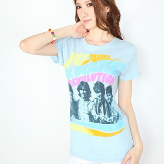 "THE BEATLES / the Beatles ""HEY JUDE"" women's t-shirt"