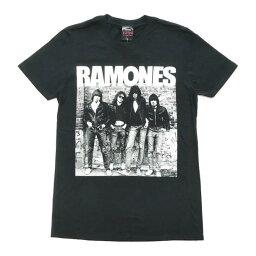 ロックTシャツ バンドTシャツ RAMONES ラモーンズ 1st Album アルバム ジャケTシャツ ROCK ブラック ツアーTシャツ ブラックTシャツ バンT