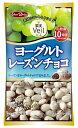 グルメな栄養士セレクト洋菓子 ヨーグルトレーズンチョコ 40g×12袋  【正栄デリシィ チョコレート ぶどうチョコ】