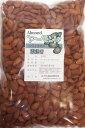 世界美食探究 カリフォルニア産アーモンド 素焼き 1kg 無塩、無油 Almond