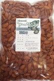 【レビューでおまけ?】 世界美食探究 アーモンド カリフォルニア産 1kg 素焼き 無塩、無油 Almond 【メール便不可】