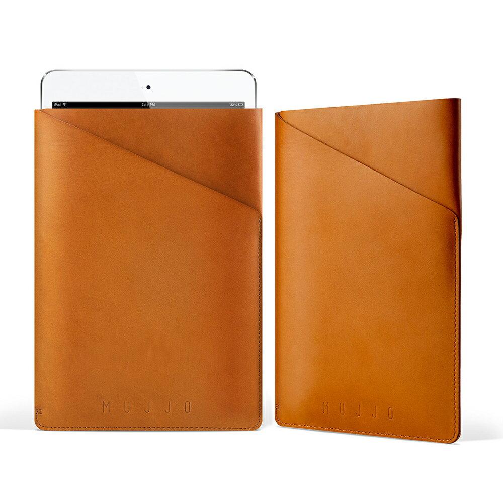 iPad Air Air2 Pro 9.7 Mini Mini2 Mini3 Mini4 Samsung Galaxy Tab S2 9.7 8.0 レザー ケース Mujjo スリム フィット 本革 ブランド スリーブ タブレットケース