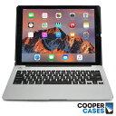 iPad Air2 iPad Pro 12.9 キーボード ケース Cooper Cases(ブランド) Kai Skel バックライト クラムシェル ワイヤレス タブレットケース おしゃれ シンプル ハード カバー Air2ケース pro 12.9ケース シルバー ゴールド