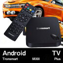 【AndroidTV】Tronsmart MXIII Plus (2G/8G+2.4Ghz/5Ghz) Quad Core Android TV BOX ブラック