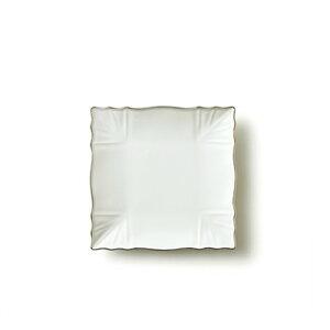 【プラチナライン】リンクル15cmプレート(アウトレット含む)【日本製 磁器】【ケーキ皿 取り皿 おしゃれ 陶器絵付け ポーセリンアート クリスマス 食器 皿】【RCP】05P03Dec16